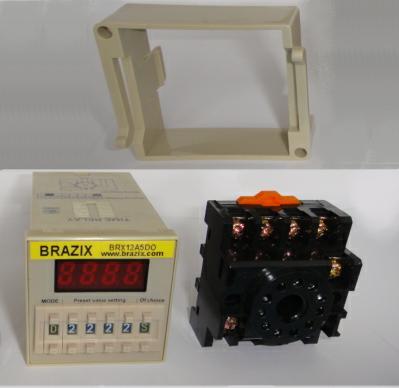 12V DC Timer Relay Switch ON Delay 5 Amps BRAZIX DC TIMER