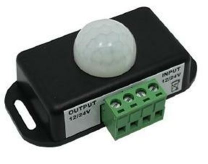 Picture of 12V DC Motion Sensor Switch Adjustable Delay - 60W