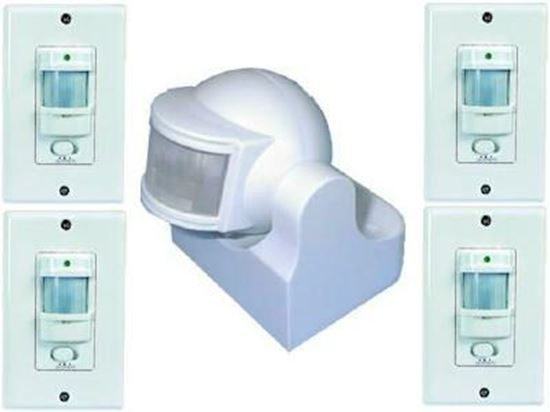 Picture of 4 Units of Wall+1 Unit of Swivel Occupancy Switch (Combo2)