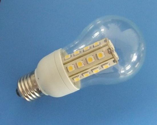 Picture of 12V DC LED Light Bulb 6W, 750 LM, Socket E27, 300°±2° angle