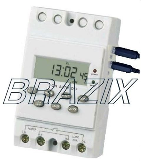Picture of Programmable Meteorological 12V DC Timer Switch - 25 Amps